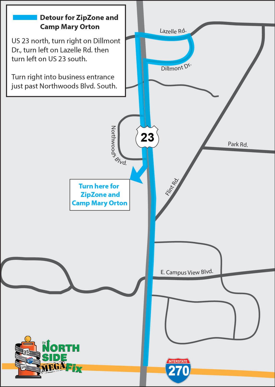 Northwoods Detour for CMO ZZ