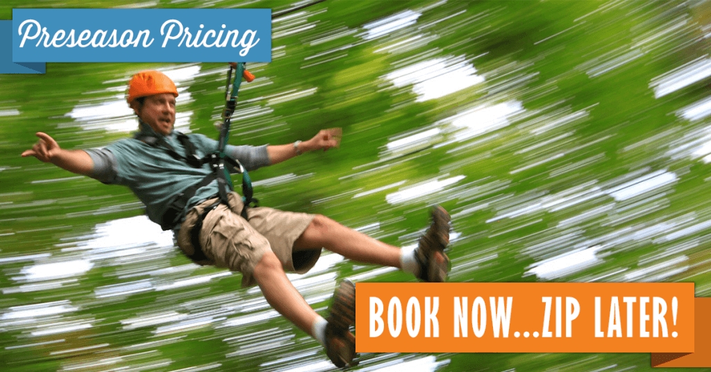 Book now, zip later