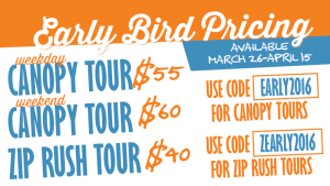 Don't miss out on our Early Bird prices!