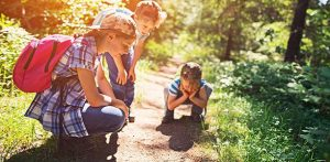 Kids nature hike