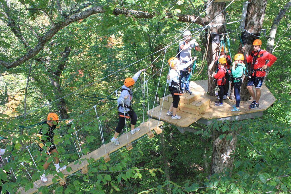 Zipzone Outdoor Adventures Zip Lining Climbing